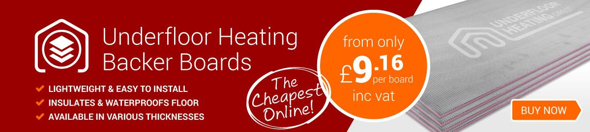 Underfloor Heating Backer Boards