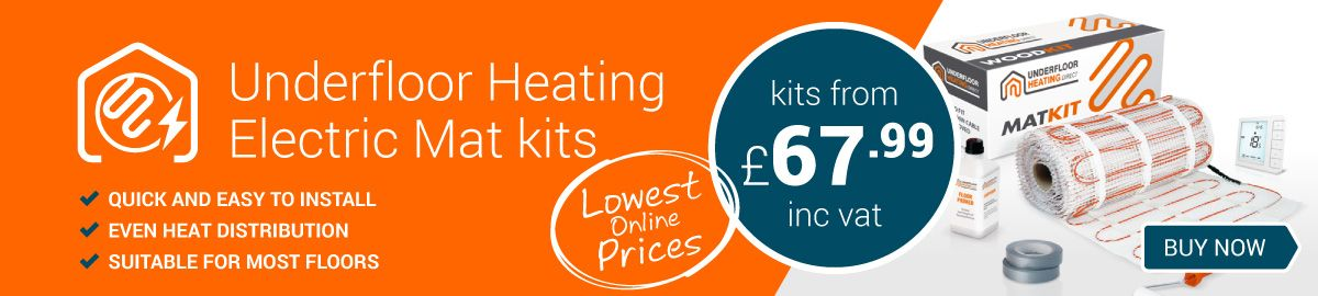 Underfloor Heating Electric Mat Kits